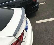 Для Audi A5 S5 спойлер 4х-дверный 2017-2019 Высокое качество ABS Материал заднего крыла первоклассника Цвет Задний спойлер крыла