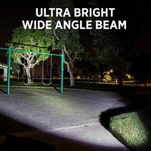 Image 5 - مصباح ليد جيب 5000LM الترا برايت مقاوم للماء الشعلة T6/L2/V6 أضواء التخييم 5 طرق زوومابلي ضوء مع شاحن بطارية 18650