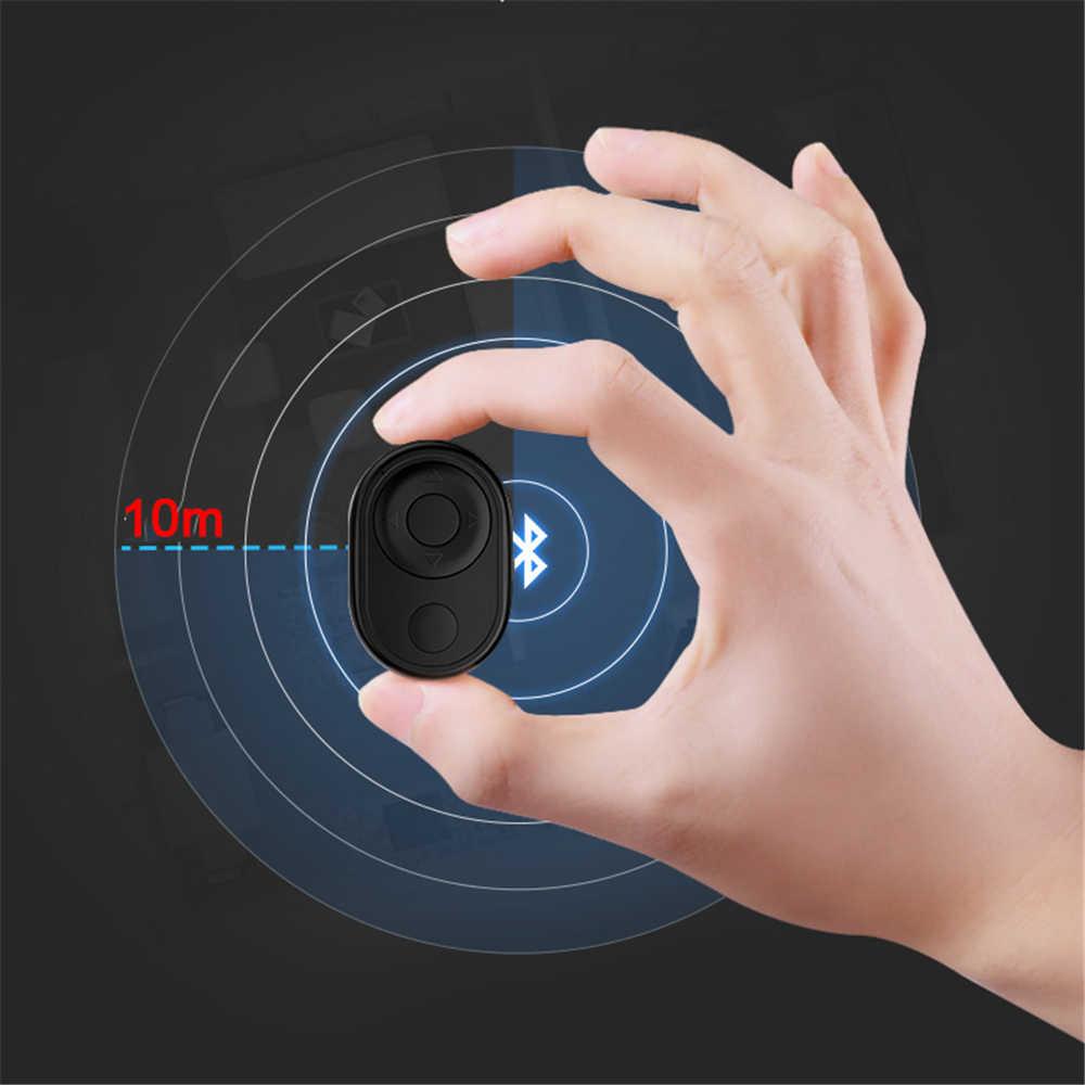 Wireless Multimedia Bluetooth Remote Control Kamera Shutter Selfie Rekaman Video Kamera Rilis untuk iPhone Android Smartphone