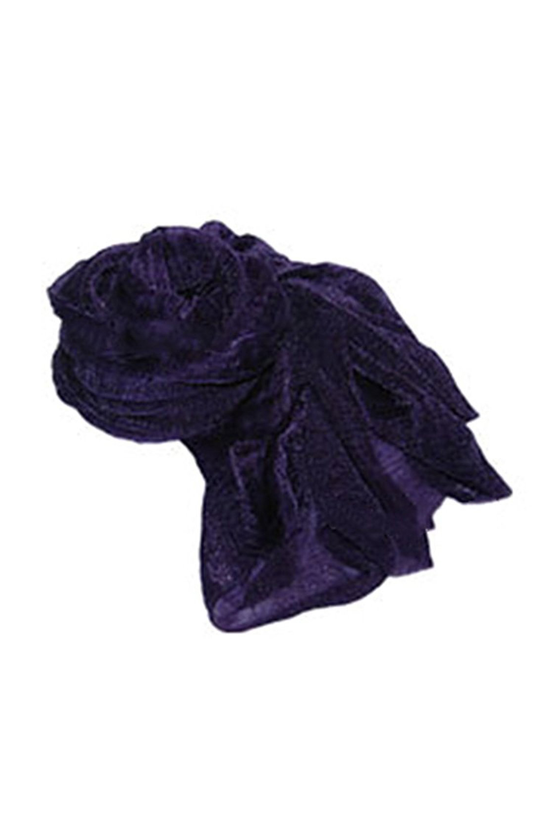 SAF-Women's Fashion Candy Colour Soft   Scarf     Wrap   Shawl Stole Dark Purple