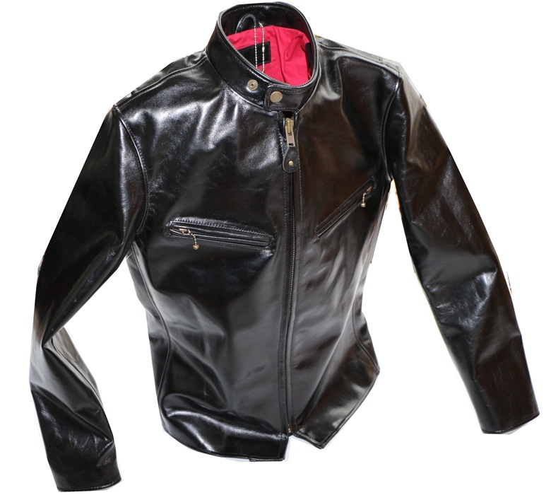 Free Shipping.super Quality Horseskin Jacket.japan Style.genuine Leather Jackets.classic Man Slim Coat.sales Single Riders