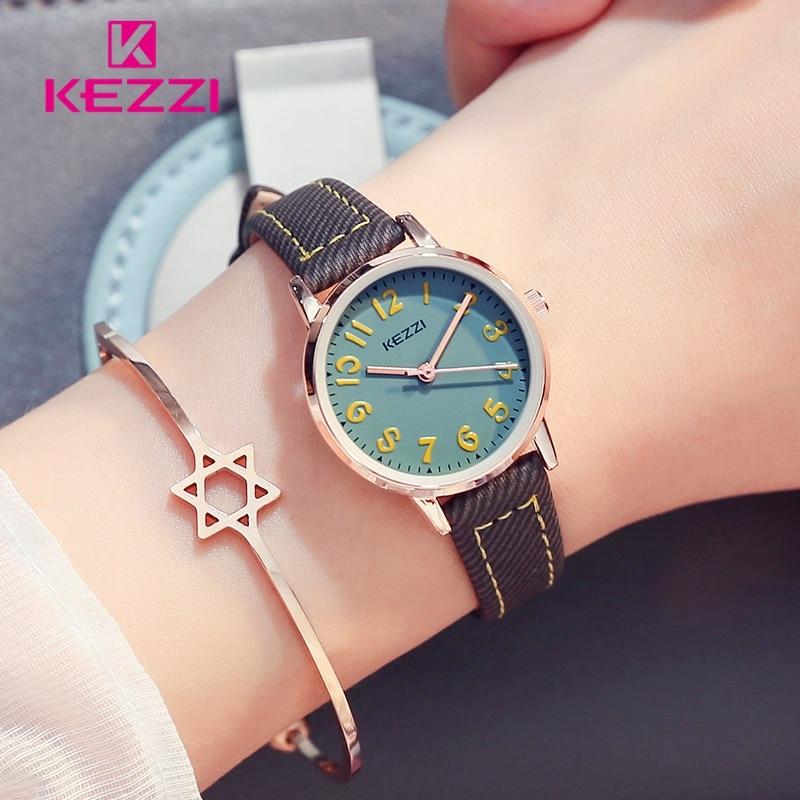2017 Fashion KEZZI Mooie Kinderen Horloges Meisjes Dagelijkse - Kinderhorloges - Foto 5