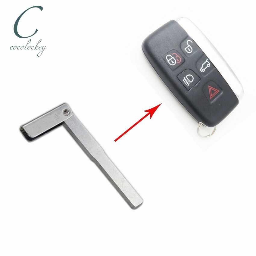 Аварийный ключ пустая неразрезанная вставка для land rover jaguar Smart Remote Key   