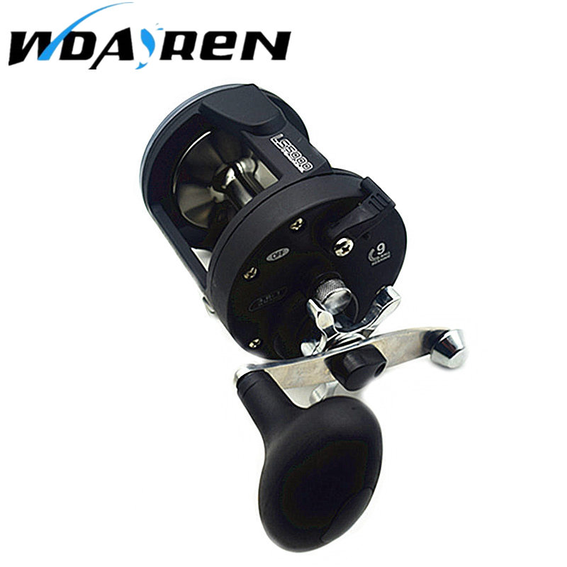 Latest Trolling Reel Fishing TSSD 3000L-5000L Black Right Hand Casting Sea Fishing Reel Saltwater Baitcasting Reel Coil FA-007 new 12bb left right handle drum saltwater fishing reel baitcasting saltwater sea fishing reels bait casting cast drum wheel