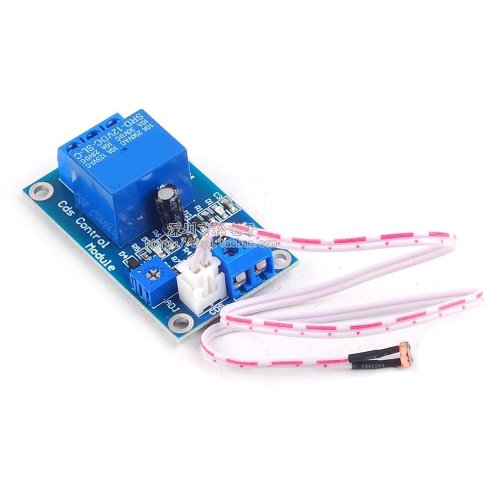 DC 5V XH-M131 Light Control Switch Relay Photoresistor Module Detection Sensor