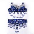 Rendimiento del tamaño S-XL 11 Colores Mujeres Dancewear Profesional 2 unids Traje Oriental Cuentas de Danza Del Vientre Traje Sujetador Cinturón