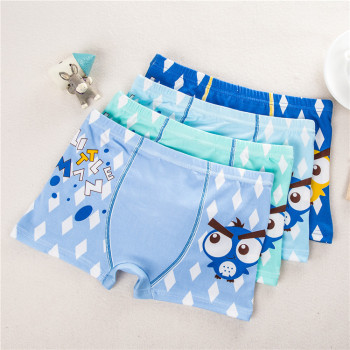 4pcs/lot Children's Cotton Underwear Baby Boys Underwear Boxer Cartoon Boy Briefs Infant Boy Panties Kids Short Clothes Boy Pant Sleepwear & Robes