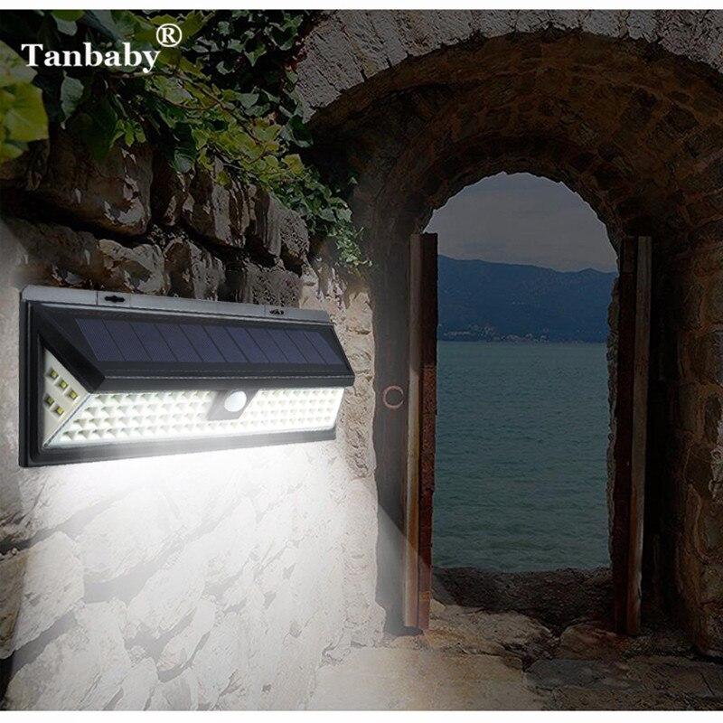 90leds Solar Wall light Solar Led Light PIR Motion Sensor Solar Lamp Waterproof IP65 4.5W 3.7V Garden Wall Mount solar Light