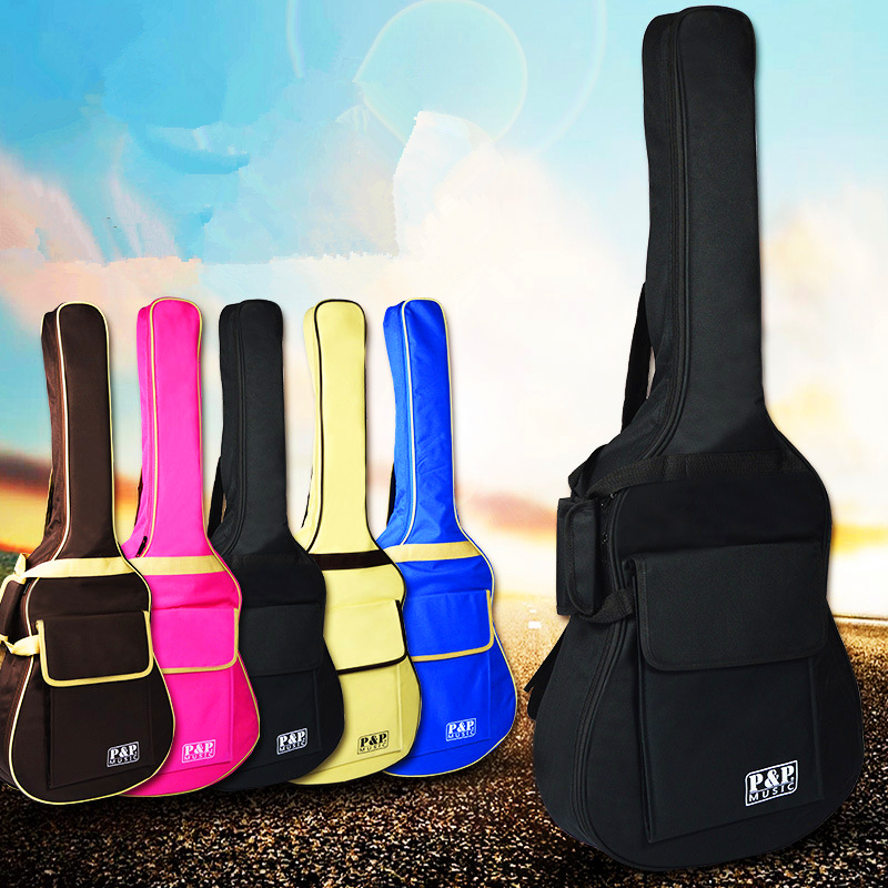 Folk guitar bag 40/41 Acoustic guitar bag Portable & Backpack thickened guitar accessories bag Backpack waterproof guitar parts two way regulating lever acoustic classical electric guitar neck truss rod adjustment core guitar parts