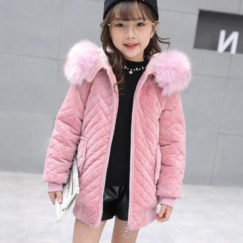 New Girls Jackets Parka Children Outerwear Childen Winter Jackets For Girls Down Jackets Coats Warm Kids Baby Thick Cotton Down winter baby jackets outerwear casual toddler girls coats cute style cotton thick hooded coat children down outerwear