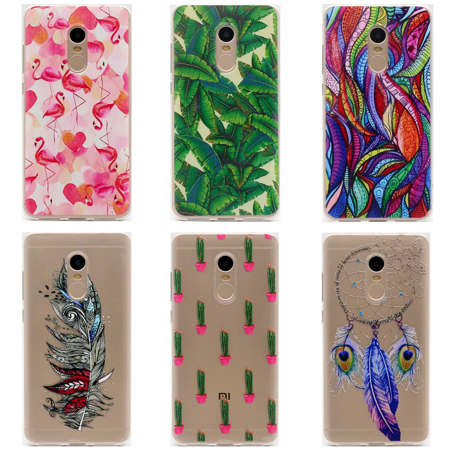 Tpu soft case for xiaomi redmi note 4 transparent printing drawing phone cases cover for redmi - Xiaomi redmi note 4 case ...