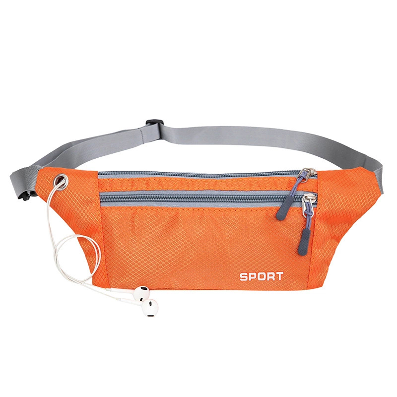 все цены на New Arrive Casual Waist Bags Lightweight Fanny Pack Water Resistant Nylon Belt Bag Portable Waist Pouch Small Bag онлайн