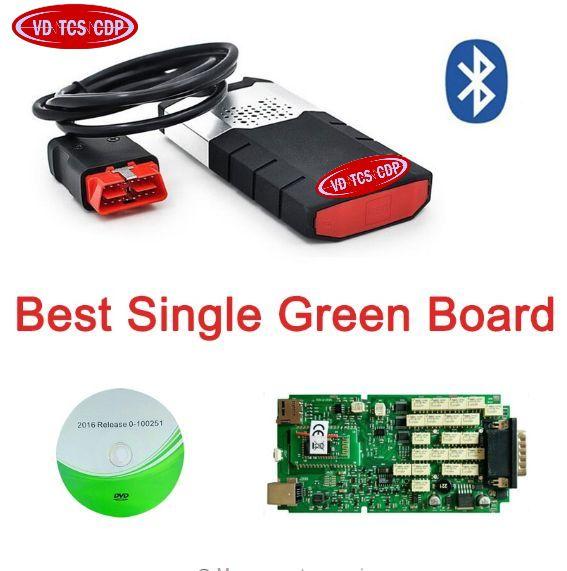 100% nouveau relais meilleure carte unique Bluetooth pour delphis vd ds150e cdp pro plus 2016.0 R0 avec keygen WOW SNOOPER autocoms 2015. R3