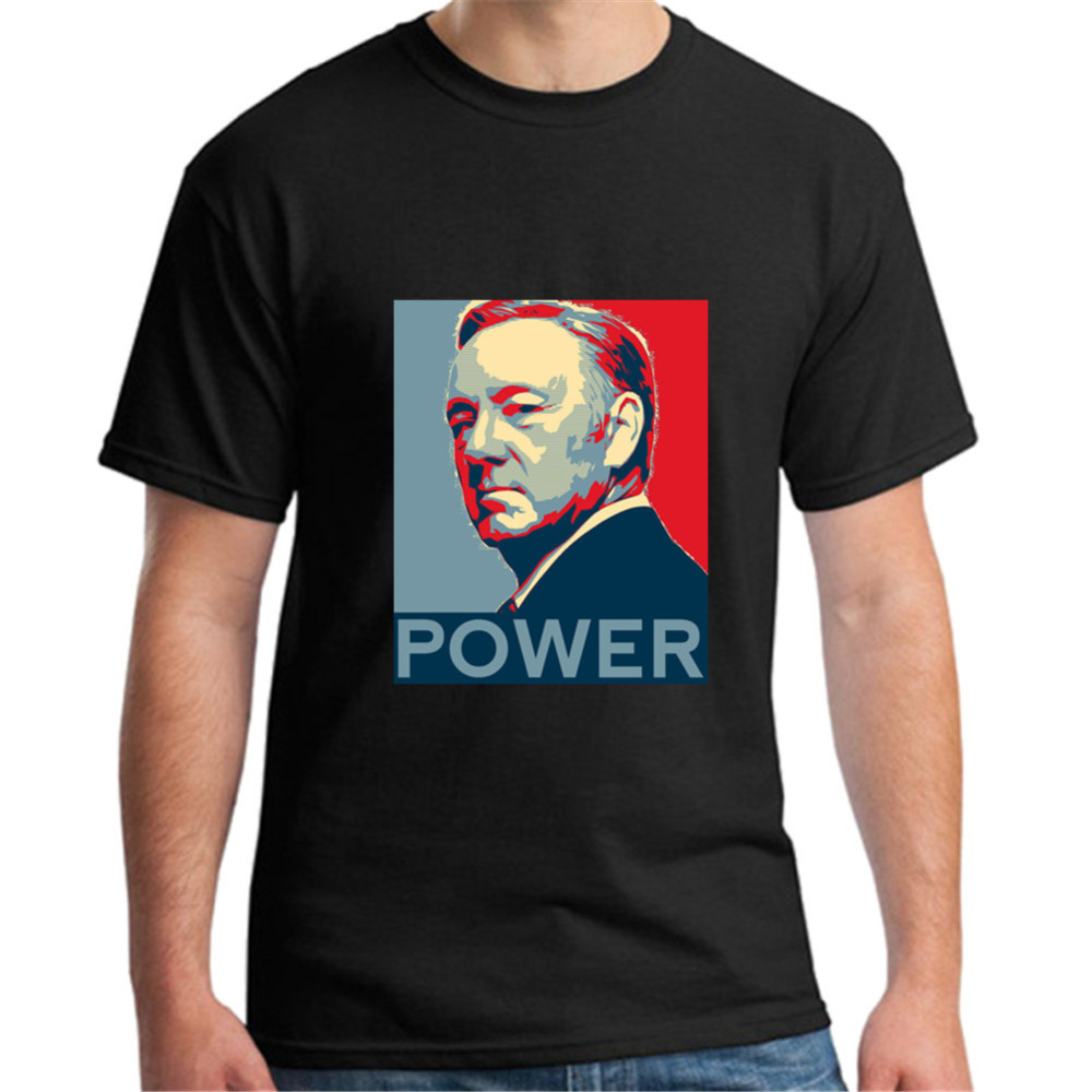 Mens T Shirts House of Cards Kevin Spacey Tops Hipster Teesd XXXL T shirt Male Crewneck T Shirts Men