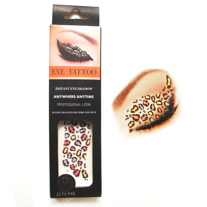 7d7c638f9 Leopard Print Eye Makeup Stickers | Saubhaya Makeup