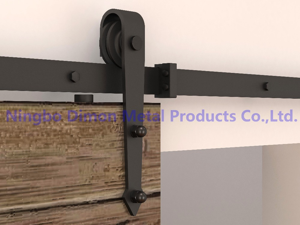 Dimon customized sliding door hardware America style sliding door hardware DM-SDU 7204 without sliding track