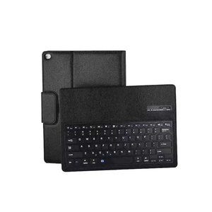 Tablet Case Wireless Bluetooth Keyboard For Apple iPad Pro 12.9 Ultrathin Slim Folio ABS Keyboard PU Leather Case Cover Stand