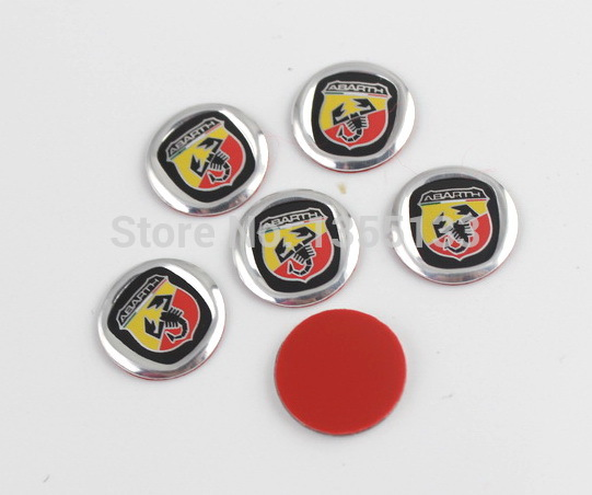 12mm Key Fob Emblem Sticker Logo Remote Badge Clear Dome VOLKSWAGEN VW 2 Pcs
