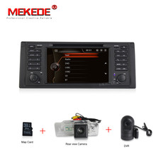 Original UI 1 din Car DVD player for bmw e53 E39 X5 With GPS Bluetooth Radio RDS USB SD Steering wheel control Free map