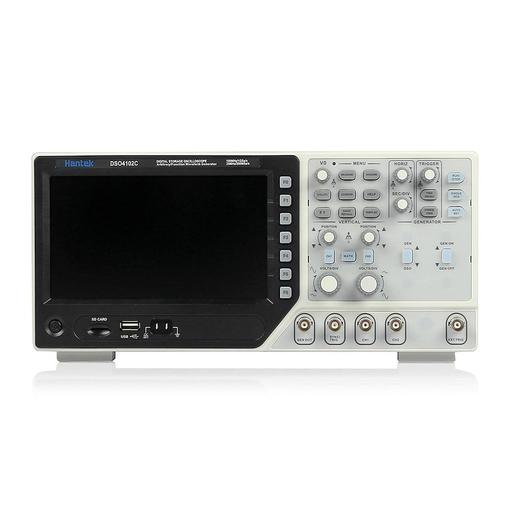 DSO4072C DSO4102C DSO4202C Digital Oscilloscope USB 100MHz 2 Channels LCD Display Handheld Osciloscopio Portatil Logic Analyzer nagara средство для чистки туалета 5 шт