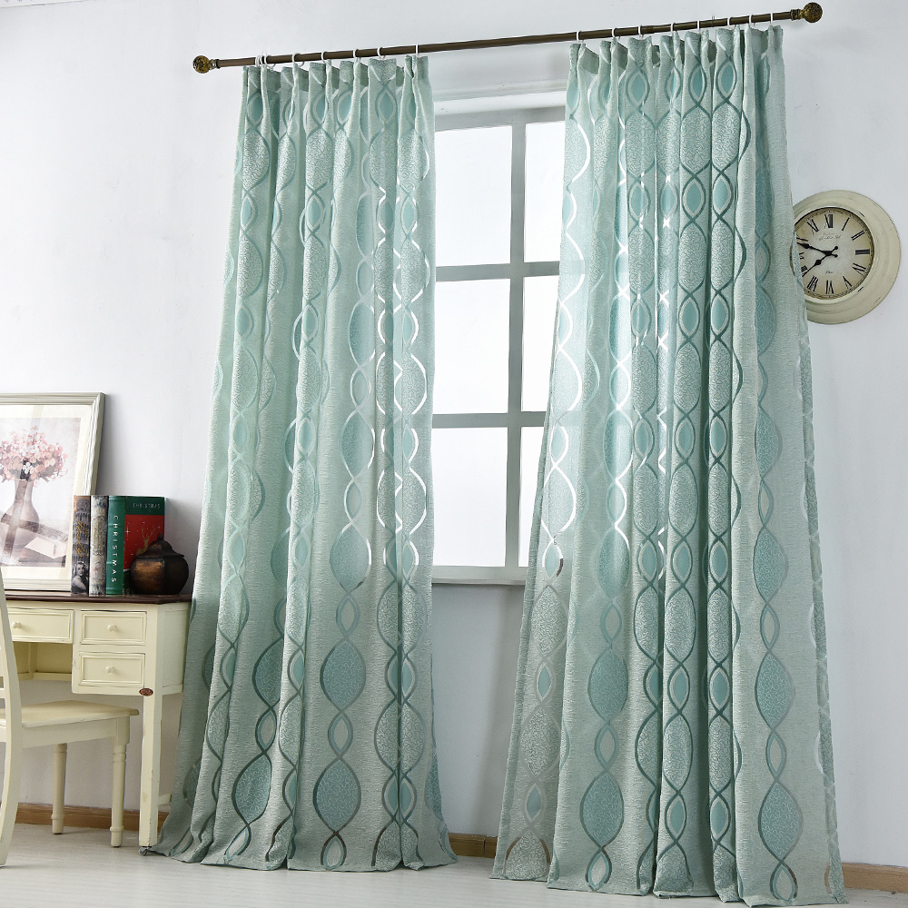 Modern Curtain Home Decoration Living Room Curtains Window