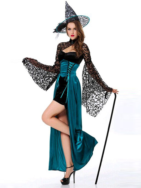 Halloween Costumes Sexy Lady's Witch Costume