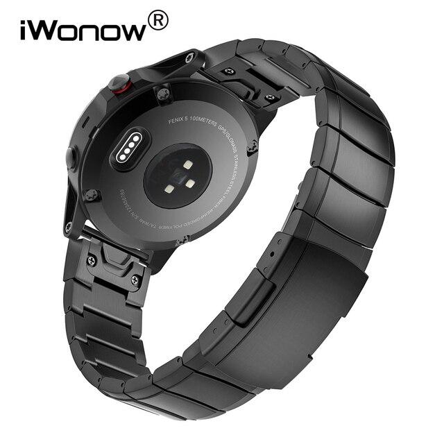 946f723b608 26mm Faixa de Relógio de Aço Inoxidável + Removedor de Ligação + Chave De  Fenda para