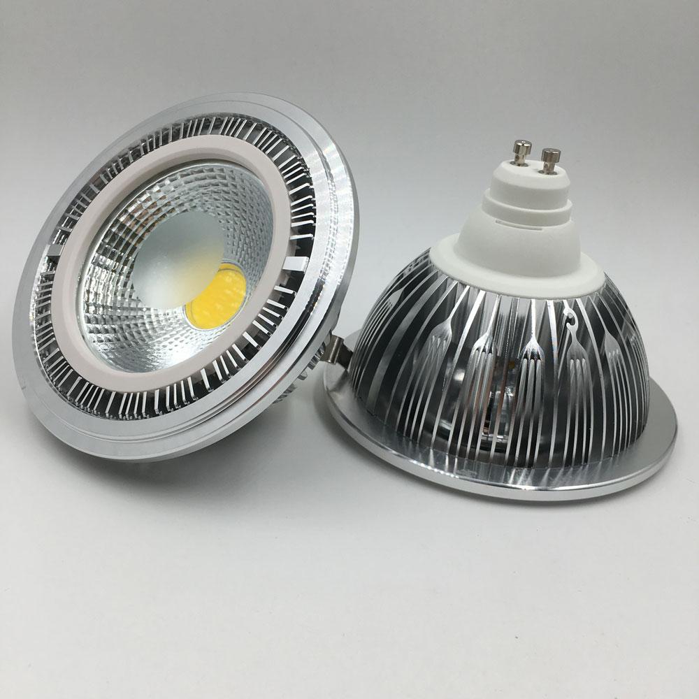 Free Shipping AR111 15W Led Cob 7W 9w G53 Lamp 12W G53 LED 110-240V 15W Ar111 Led Bulb Ar 111 Led Spotlight GU10
