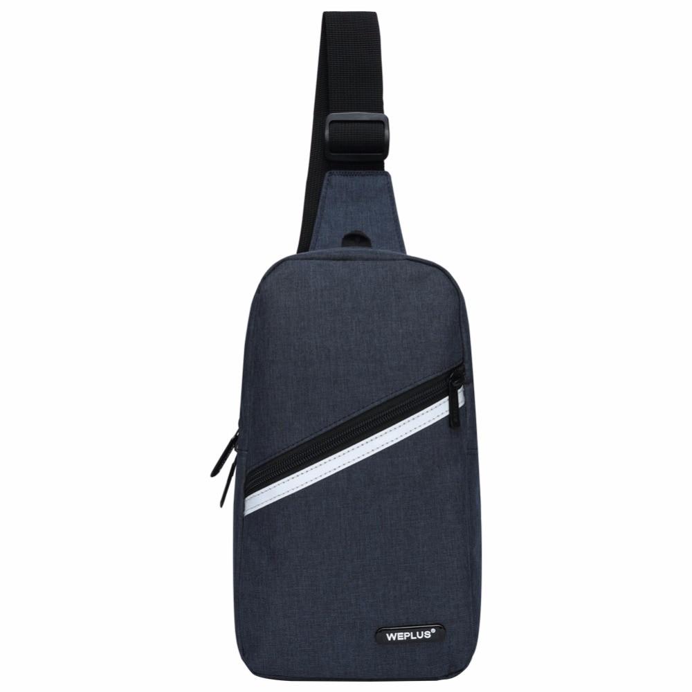 Crossbody bolsos para hombres bolsa de mensajero pecho bolsa Casual Paquete de Nylon una sola correa de hombro para las mujeres al por mayor masculina negro