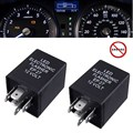5 pin EP-27 Flasher Relay Fix For LED Turn Signal Lamps Hyper Flash Decoder ABS for Chevrolet/Chrysler/Doge/dgeFord