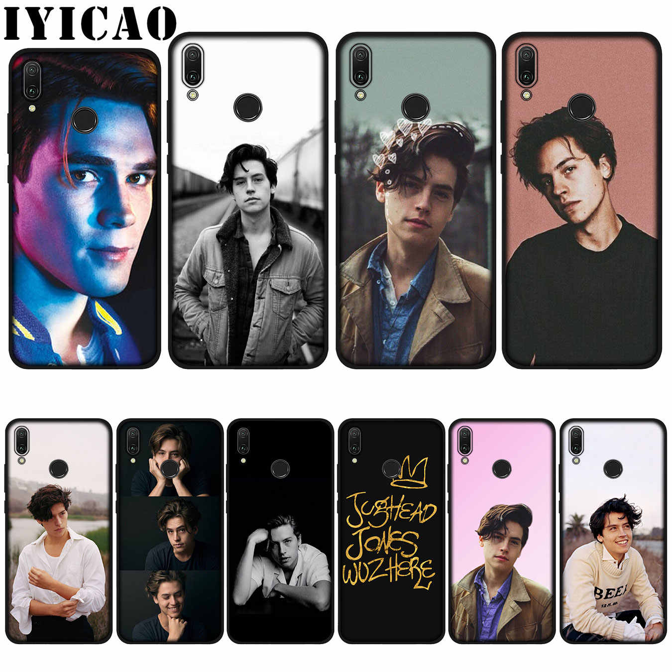 IYICAO American TV Riverdale Jughead Jones Soft Case for Huawei P20 Pro P10 P8 P9 P30 Lite Mini 2017 P Smart 2019 Cover