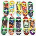 Mini Dedo Patinetas De Plastico Unti Diapasón Profesionales para los niños de Juguete suave Dedo dedo Skate-patineta