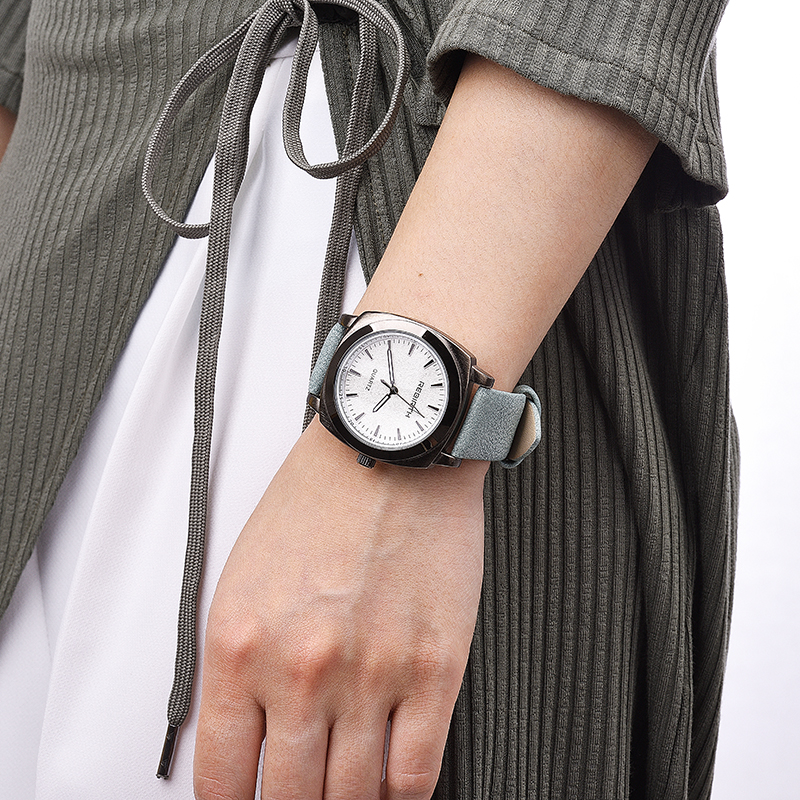 купить New design square women watches REBIRTH popular brand fashion casual ladies watch quartz clock grey wristwatches reloj mujer по цене 529.79 рублей