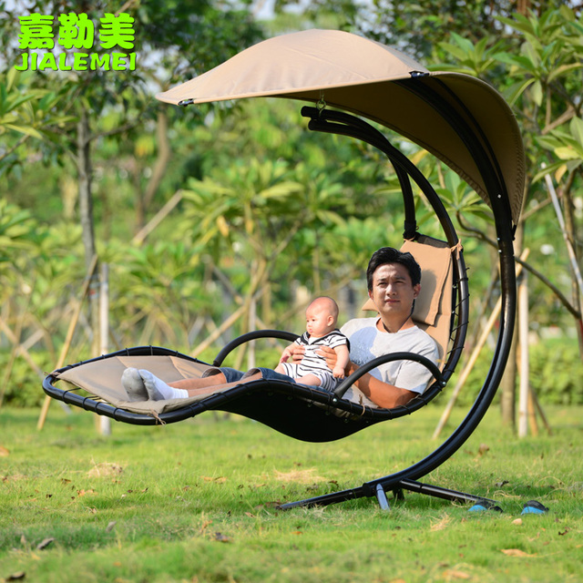 Muebles de jardín cesta colgante columpio glorieta girar silla ...