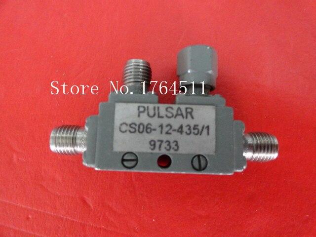 [BELLA] PULSAR CS06-12-435/1 7-12.4GHz Coup:6dB SMA Coaxial Directional Coupler