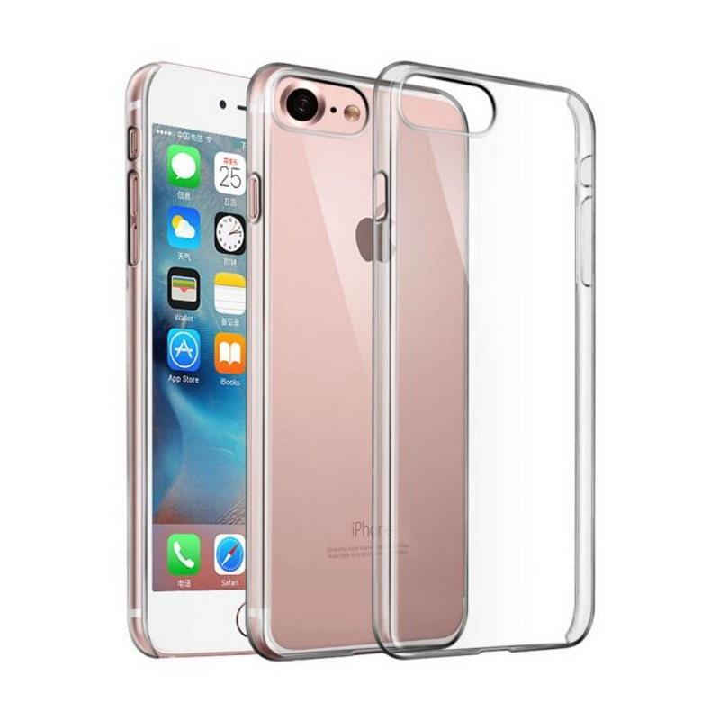 Hard Crystal Case for iPhone 7 8 Plus 6 6S 5S 5 SE 5C 4S Մաքուր - Բջջային հեռախոսի պարագաներ և պահեստամասեր - Լուսանկար 1