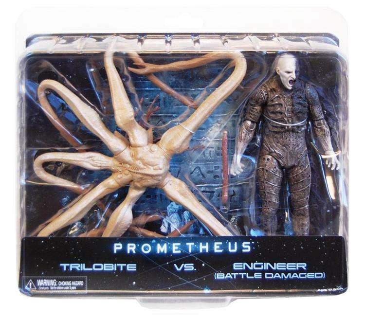 Original NECA Prometheus Trilobite Engineer Facehugger Alien Xenomorph Aliens predator PVC action Figures Collection Model toy neca figures out of this world alien acehugger