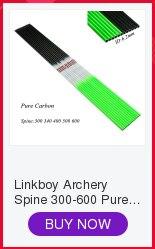6 pçs linkboy tiro com arco seta