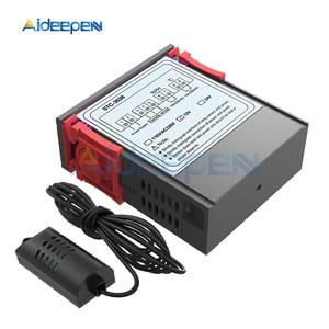 Image 2 - STC 3028 inteligentny wyświetlacz cyfrowy kontroler temperatury i wilgotności wyświetlacz termometr higrometr do lodówki przemysł domowy