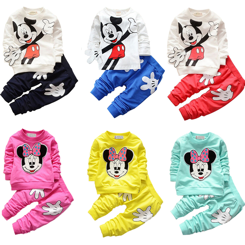 Child Clothes Spring Baby Boys Sports Suit Boy Clothes Set New Baby Girls Clothes Children Tracksuit Toddler Girls Clothing sets 2017 spring autumn children clothing set girls sports suit baby girls tracksuit cartoon minnie children clothes set kids cloth