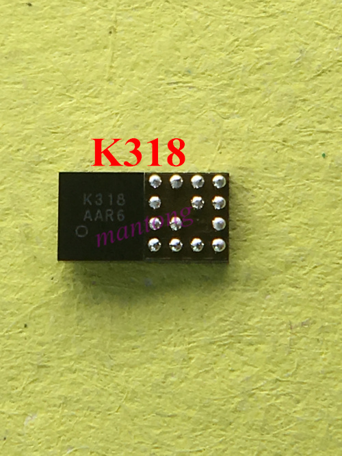 5pcs 10pcs K318 for Redmi 4A Ringing IC For Redmi NOTE 4X Audio Amplifier Code chord chip