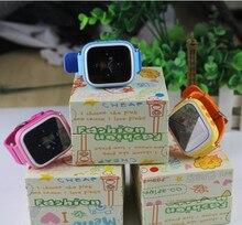 """Niños Reloj GPS Q80 PK Q50 Bebé Inteligente Reloj SOS Llamada Perdida Anti Ubicación Rastreador Smartwatch w/1.44 """"Pantalla a Color de Los Niños Relojes"""