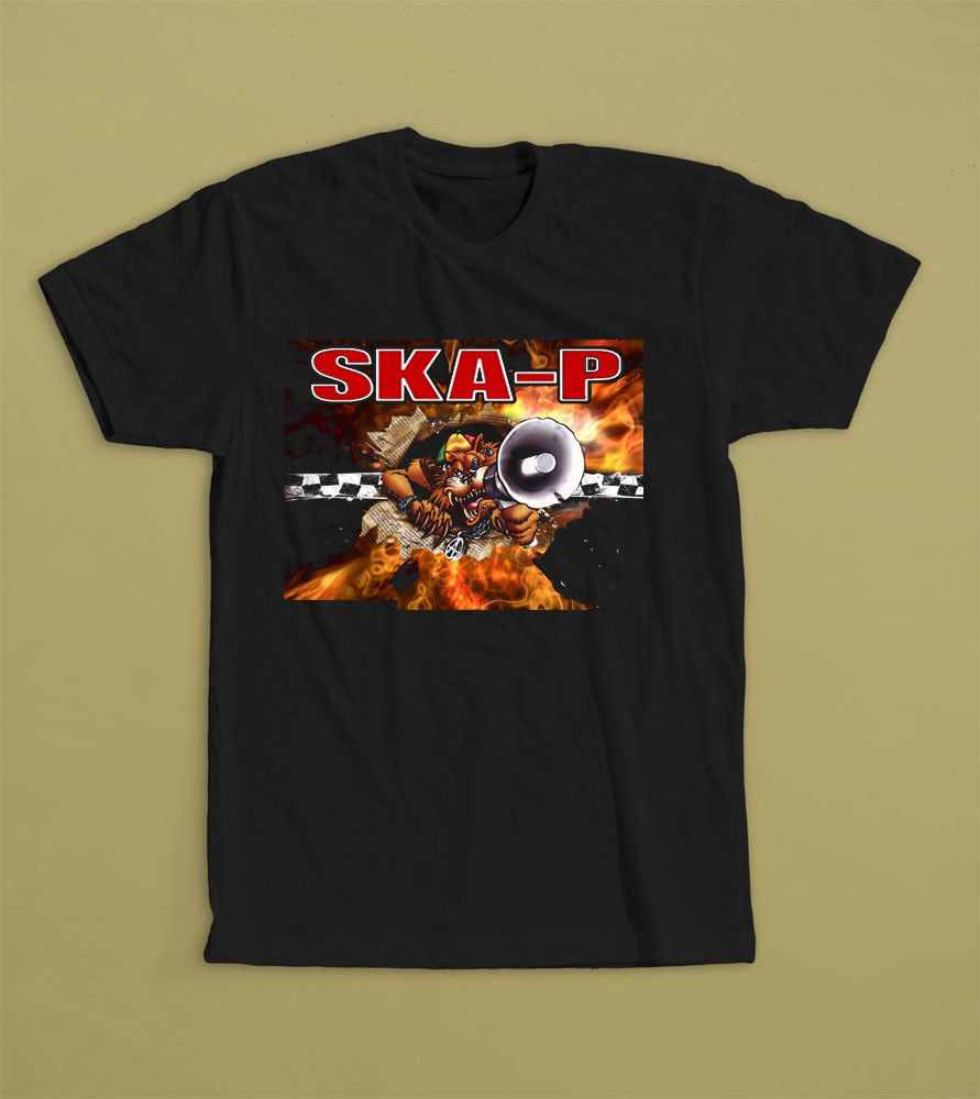 Ska P T Shirt Tee S M L Xl 2Xl Ska Band Doctor Krapula The Locos Reincidentes