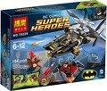 Bela 10226 Nightwing Batman Superhéroe Avengers Figura de Juguete Bloques de Construcción de Helicópteros de Ataque Marionetas juguetes para niños Z392