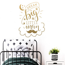 NEW dream Home Decoration Accessories For Living Room Kids Decal Creative Stickers