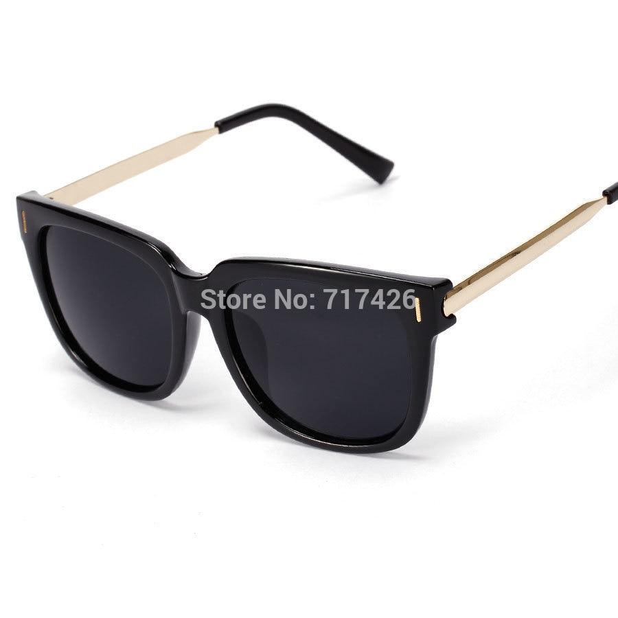 VWKTUUN Quadrat Sonnenbrille Frauen Männer Gold Rahmen sonnenbrille ...