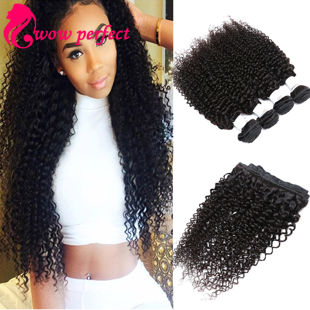 A Malaysian Curly Hair Kinky Curly Virgin Hair  Piece Lot Human Hair Extensions Top Quality