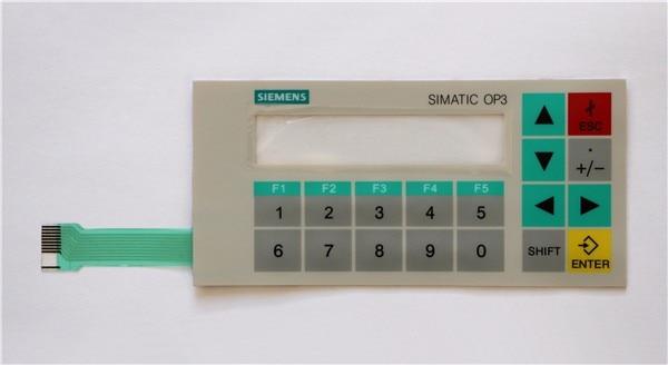 Membrane switch for 6AV3503-1DB10 OP3 panel keypad ,simatic HMI keypad , IN STOCK 6av3607 5ca00 0ad0 for simatic hmi op7 keypad 6av3607 5ca00 0ad0 membrane switch simatic hmi keypad in stock