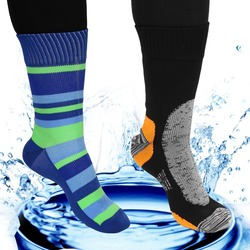 1 pair fitness anti sweat breathable waterproof socks leg warmers outdoor sports stockings running cycling.jpg 250x250