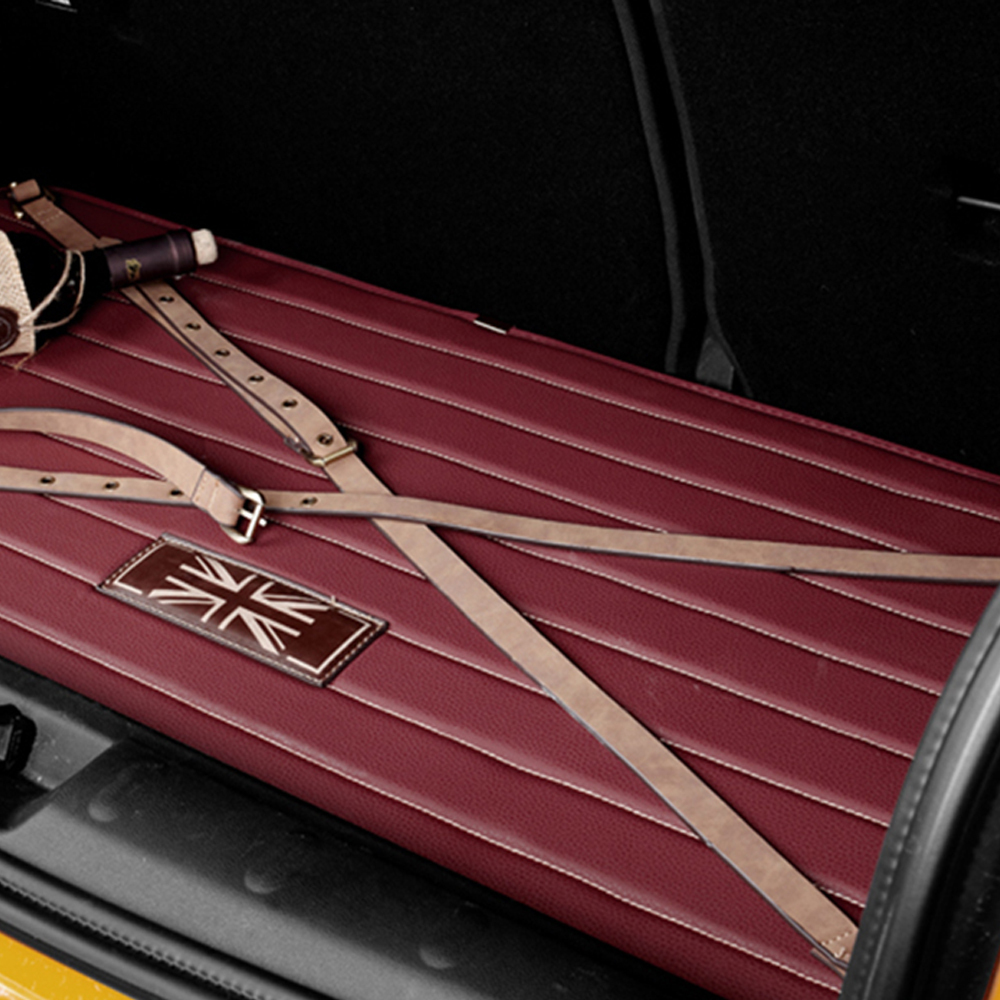 Car Cargo Liner Leather Rear Bumper Trunk Mat Pad Cover for Mini Cooper One S JCW Countryman R55 R56 Car Styling Accessorie игрушка motormax gt racing mini cooper s countryman 73773